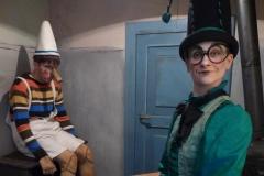 Pinocchio, (Grille) Hessisches Staatstheater Wiesbaden